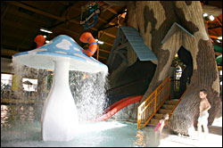 The water park at Timber Ridge.