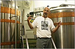 Tom Porter of Lake Louie Brewery.