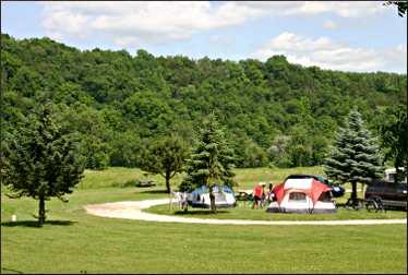 Old Barn campground near Lanesboro.