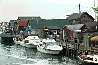 Fishtown in Leland.