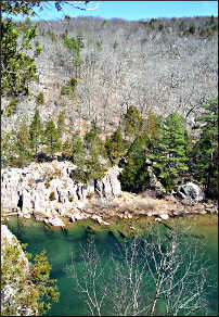 The Deep Hole in Johnson's Shut-Ins park.