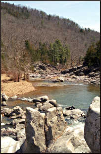 Johnson's Shut-Ins State Park.