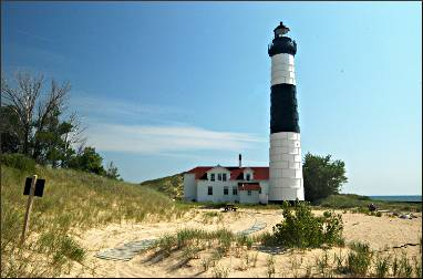 Big Sable Point Lighthouse near Ludington.