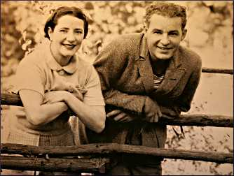 Lynn Fontanne and Alfred Lunt.