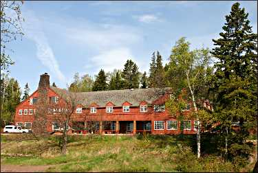Lutsen Lodge on the North Shore.