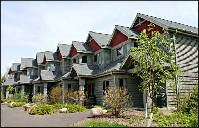 Cliff House Townhomes at Lutsen.