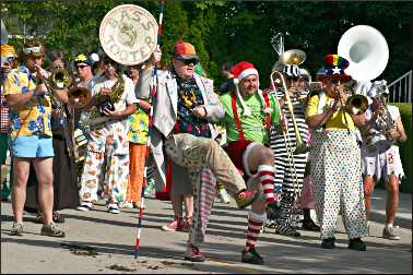 Scottville Clown Band.