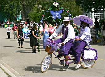 Lilac Parade on Mackinac Island.