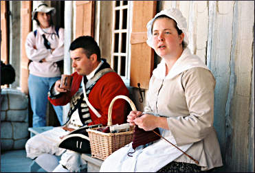 Interpreters at Fort Michilimackinac.