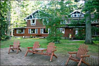 Voss' Birchwood Lodge in Manitowish Waters.