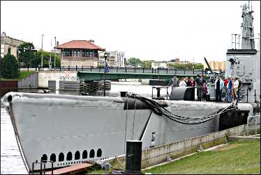 The Cobia submarine in Manitowoc.