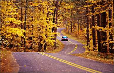 Fall in Marinette County.
