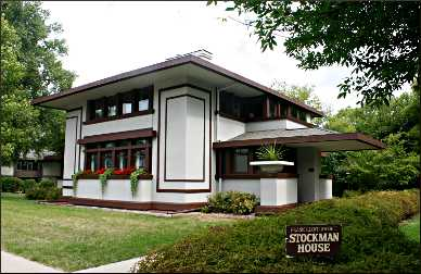 Frank Lloyd Wright's Stockman House.