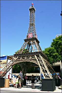 Eiffel Tower at Milwaukee's Bastille Days.