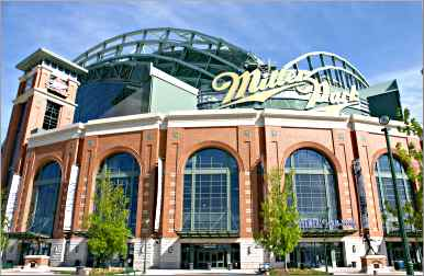 Milwaukee's Miller Park.