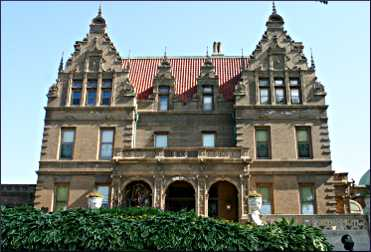 The Pabst Mansion in Milwaukee.