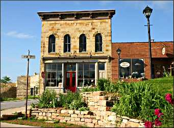 A gallery in Mineral Point.