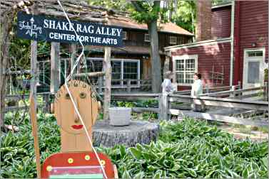 Shake Rag Alley in Mineral Point.