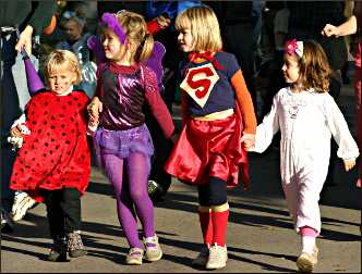 Children's Halloween parade.