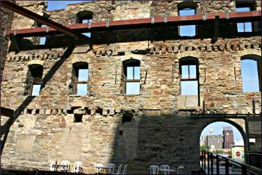 Mill City Museum courtyard.