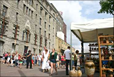 Stone Arch Festival in Minneapolis.