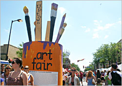 Uptown Art Fair in Minneapolis