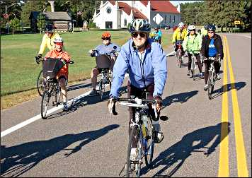 Parks &amp; Trails Council bicycle ride.