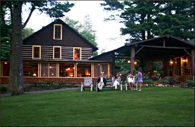 Coons' Franklin Lodge near Minocqua.