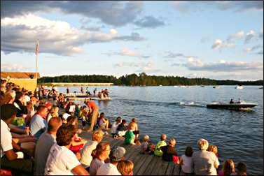 The Aqua Bowl in Minocqua.