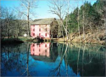 Alley Spring Mill near Eminence, Mo.