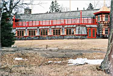 Naniboujou Lodge is a landmark on the North Shore.