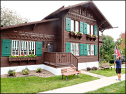 Chalet of the Golden Fleece in New Glarus.