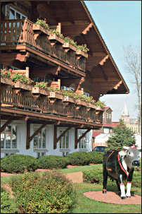 Chalet Landhaus in New Glarus.