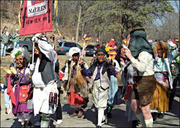 A Bock Fest parade.