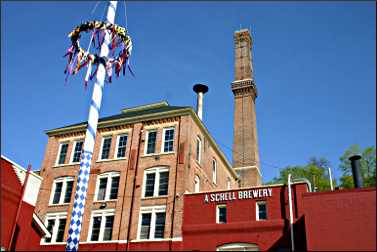 Schell Brewery in New Ulm.