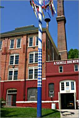 Schell's Brewery in New Ulm.