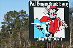 The Paul Bunyan Scenic Byway.