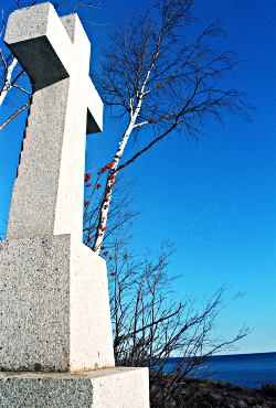 Father Baraga's Cross on the North Shore.