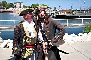 Pirates in Port Washington.