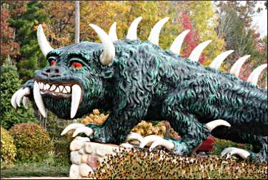 The hodag in Rhinelander.