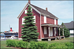 Father Baraga house in Sault Ste. Marie.