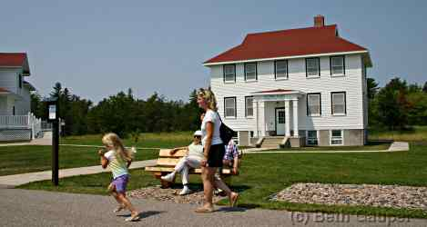The B&B at the shipwreck museum in Whitefish point