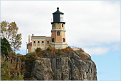 Split Rock Lighthouse on Minnesota's North Shore.