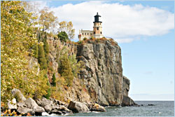 Split Rock Lighthouse.