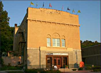 The 1917 auditorium in St. Croix Falls.