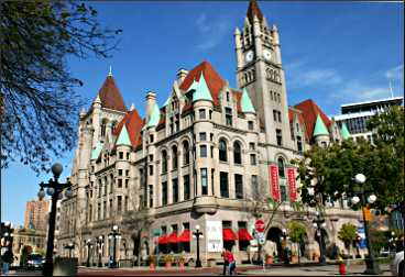 The Landmark Center in St. Paul.