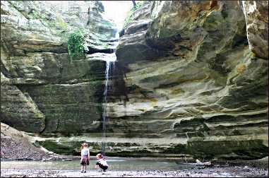 Ottawa Canyon in Starved Rock State Park.