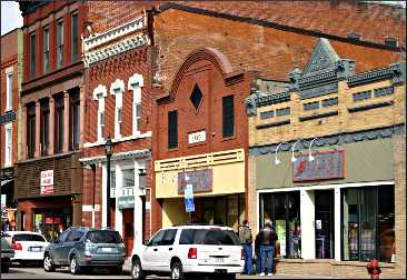 Buildings on Stillwater's Main Street.