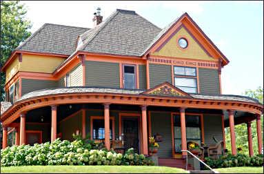 Sauntry Mansion in Stillwater.