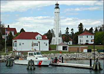 The Canal Light in Sturgeon Bay.